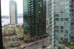 The Qube Unfurnished 2 Bedroom Apartment For Rent in Coal Harbour. 606 - 1333 West Georgia, Vancouver, BC, Canada.