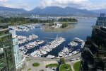 3 Bedroom Luxury Apartment Rental at Classico in Coal Harbour Vancouver. 3505 - 1328 West Pender Street, Vancouver, BC, Canada.