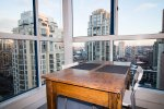 Fully Furnished / Unfurnished 2 Level Luxury Loft For Rent at Space Lofts in Yaletown. 1109 - 1238 Seymour Street, Vancouver, BC, Canada.