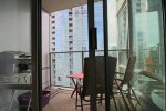 1 Bedroom Fully Furnished Executive Apartment Rental at Azura in Yaletown. 1506 - 1438 Richards Street, Vancouver, BC, Canada.
