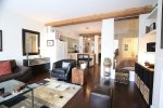 Spacious, Modern 2 Bedroom Unfurnished Luxury Loft For Rent at Alda in Yaletown. 213 - 1275 Hamilton Street, Vancouver, BC, Canada.