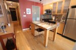 Unfurnished 1 Bedroom Loft Rental at The Crandall Building in Yaletown. 404 - 1072 Hamilton Street, Vancouver, BC, Canada.