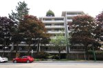 The Parkcrest 2 Bed Apartment For Rent with Spacious Outdoor Patio in Metrotown. 111 - 5932 Patterson Avenue, Burnaby, BC, Canada.