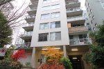 Unfurnished 1 Bedroom Apartment with Balcony at The Chelsea in Vancouver's West End. 801 - 1219 Harwood Street, Vancouver, BC, Canada.