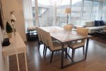 Nahanni Fully Furnished 2 Bedroom Apartment Rental in Port Moody Centre. 506 - 660 Nootka Way, Port Moody, BC, Canada.
