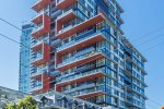 Modern 1 Bedroom Apartment Rental at The Rolston in Downtown Vancouver. 1703 - 1325 Rolston Street, Vancouver, BC, Canada.