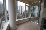 Modern 7th Floor 1 Bedroom City View Apartment Rental at Alexandra in Vancouver's West End. 702 - 1221 Bidwell Street, Vancouver, BC, Canada.