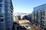 Modern 2 Bedroom & Flex Apartment Rental at Tower Green at West at The Olympic Village. 902 - 159 West 2nd Avenue, Vancouver, BC, Canada.