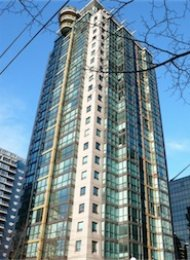 Unfurnshed Studio For Rent at The Lions in Downtown Vancouver. 302 - 1367 Alberni Street, Vancouver, BC, Canada.