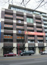 Ginger 1 Bedroom Unfurnished Apartment For Rent in Chinatown Vancouver. 602 - 718 Main Street, Vancouver, BC, Canada.