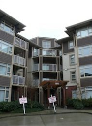 Unfurnished 1 Bedroom Apartment Rental in Metrotown at Cadence. 301 - 7337 MacPherson Avenue, Burnaby, BC, Canada.