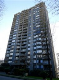 Westsea Towers Unfurnished Studio For Rent in Vancouver's West End. 1403 - 1330 Harwood Street, Vancouver, BC, Canada.