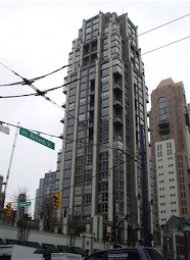 Metropolis 1 Bedroom Unfurnished Loft For Rent in Yaletown, Vancouver. 801 - 1238 Richards Street, Vancouver, BC, Canada.