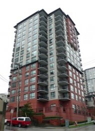 2 Bedroom Apartment Rental at News in Downtown New Westminster. 1505 - 833 Agnes Street, New Westminster, BC, Canada.