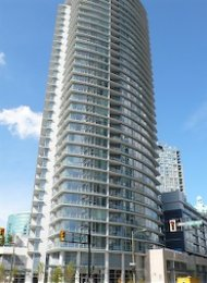 Espana 1 Bedroom Unfurnished Apartment Rental in Downtown Vancouver. 906 - 689 Abbott Street, Vancouver, BC, Canada.