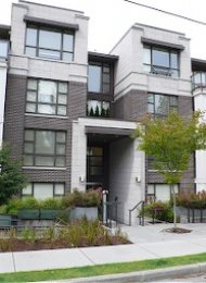 Brillia 2 Bedroom Apartment For Rent in Point Grey on Vancouver's Westside. 306 - 3839 West 4th Avenue, Vancouver, BC, Canada.