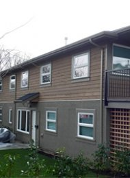 East Vancouver 3 Bedroom Unfurnished Fourplex Rental. 2819 Semlin Drive, Vancouver, BC, Canada.
