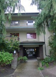 Unfurnished 1 Bedroom Apartment Rental in East Vancouver at Frances Place. 104 - 1622 Frances Street, Vancouver, BC, Canada.