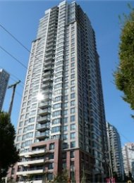 Yaletown Park Unfurnished Studio For Rent in Yaletown Vancouver. 2408 - 909 Mainland Street, Vancouver, BC, Canada.