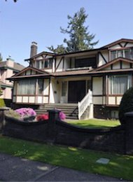 6 Bedroom Unfurnished House Rental in Dunbar on Vancouver's Westside. 2993 West 36th Avenue, Vancouver, BC, Canada.