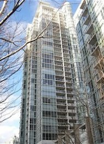 Marinaside Resort Yaletown 1 Bedroom Apartment Rental in Vancouver. 2105 - 193 Aquarius Mews, Vancouver, BC, Canada.