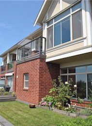 Marquis Grande 3 Bedroom Townhouse For Rent in Brentwood Burnaby. TH5 - 4132 Halifax Street, Burnaby, BC, Canada.