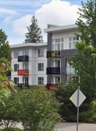 Nest 2 Bedroom Apartment For Rent at Simon Fraser University in Burnaby. 205 - 9250 University High Street, Burnaby, BC, Canada.