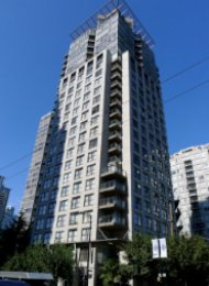 Unfurnished Studio For Rent at Nova in Yaletown Vancouver. 608 - 989 Beatty Street, Vancouver, BC, Canada.
