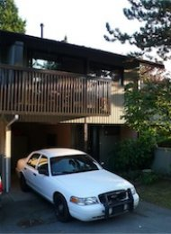Unfurnished 3 Bedroom Townhouse For Rent in Sullivan Heights Burnaby. 9018 Lyra Place, Burnaby, BC, Canada.