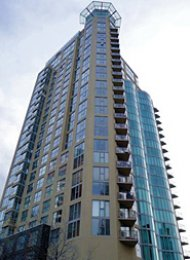 1000 Beach Luxury 2 Bedroom Unfurnished Apartment Rental in Vancouver. 1201 - 1000 Beach Avenue, Vancouver, BC, Canada.
