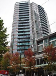 TV Towers 1 Bedroom Unfurnished Apartment Rental in Downtown Vancouver. 1611 - 788 Hamilton Street, Vancouver, BC, Canada.
