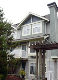 Ledgestone 2 Bedroom Unfurnished Townhouse Rental in Burnaby. 7 - 7488 Southwynde Avenue, Burnaby, BC, Canada.
