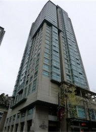 Conference Plaza 1 Bedroom Apartment Rental in Downtown Vancouver. 2402 - 438 Seymour Street, Vancouver, BC, Canada.