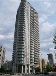 Unfurnished 1 Bedroom Apartment Rental in Metrotown at Centrepoint. 2103 - 4808 Hazel Street, Burnaby, BC, Canada.