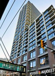 Woodwards W43 Modern 2 Bedroom Luxury Apartment For Rent in Gastown, Vancouver. 1710 - 128 West Cordova Street, Vancouver, BC, Canada.