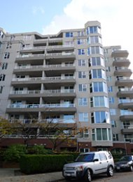 Discovery Quay 2 Bedroom Apartment Rental on Vancouver's Westside. 708 - 522 Moberly Road, Vancouver, BC, Canada.