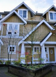Craftsman Estates Townhouse For Rent in Lynn Valley North Vancouver. 6 - 2688 Mountain Highway, North Vancouver, BC.