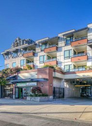 Oakterra 3rd Floor Unfurnished 1 Bedroom & Den Apartment For Rent in Metrotown, Burnaby. 307 - 5211 Grimmer Street, Burnaby, BC, Canada.