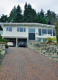 Unfurnished 1 Bedroom Basement Suite For Rent in West Vancouver. 486 Craigmohr Drive, West Vancouver, BC, Canada.