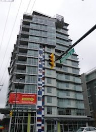 Pinnacle Living Unfurnished 1 Bedroom Apartment For Rent in False Creek. 605 - 63 West 2nd Avenue, Vancouver, BC, Canada.