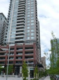Yaletown Park Unfurnished 1 Bedroom & Den Apartment Rental in Vancouver. 1601 - 977 Mainland Street, Vancouver, BC, Canada.