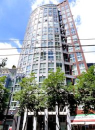 The Spot 2 Level 1 Bedroom Unfurnished Loft For Rent in Downtown Vancouver. 603 - 933 Seymour Street, Vancouver, BC, Canada.