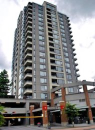 1 Bedroom Unfurnished Apartment For Rent in Burnaby at Tandem. 1505 - 4118 Dawson Street, Burnaby, BC, Canada.