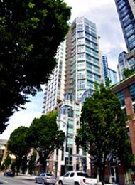 Vita 2 Bedroom Luxury Unfurnished Apartment For Rent in Yaletown. 2601 - 565 Smithe Street, Vancouver, BC, Canada.