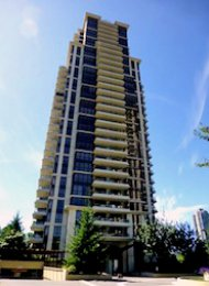 Mosaic Unfurnished 2 Bedroom Apartment For Rent in Brentwood Burnaby. 2505 - 2138 Madison Avenue, Burnaby, BC, Canada.