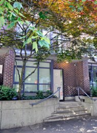 The Canadian Live/Work Townhouse For Rent in Downtown Vancouver. 1060 Hornby Street, Vancouver, BC, Canada.