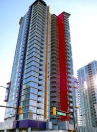 Spectrum 2 Bedroom Apartment For Rent in Downtown Vancouver. 2108 - 602 Citadel Parade, Vancouver, BC, Canada.