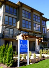 Upper Lonsdale 1 Bed Unfurnished Apartment Rental at Avesta Apartments. 204 - 1629 Saint Georges Ave, North Vancouver, BC.