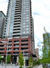 Yaletown Park 1 Bedroom Unfurnished Apartment For Rent in Vancouver. 2305 - 977 Mainland Street, Vancouver, BC, Canada.