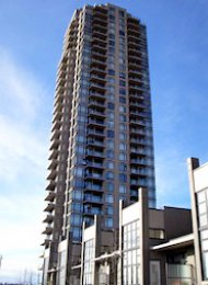 Brentwood 2 Bedroom Unfurnished Apartment Rental at Oma in Burnaby. 2306 - 2345 Madison Avenue, Burnaby, BC, Canada.